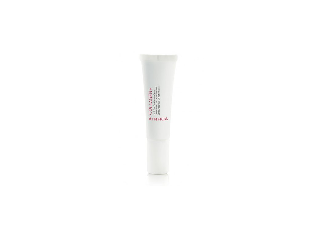 Ainhoa Collagen+ Lift & Firm Eye Contour Cream 15 ml - oční krém s kolagenem  vyhlazuje jemné linky a vrásky kolem očí, dodává pleti pevnost a pružnost