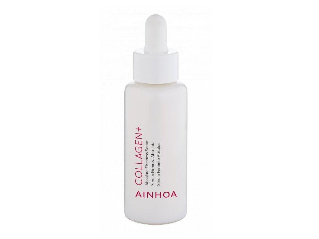 Ainhoa Collagen+ Absolute Firmness Serum 50 ml - pleťové sérum s kolagenem  působením speciálních pigmentů odrážejících světlo se váš obličej okamžitě rozzáří