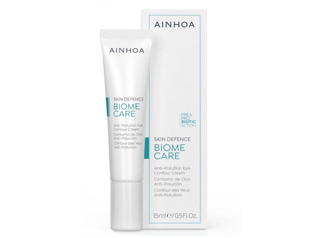 Ainhoa Biome Care Anti-Pollution Eye Cream 15ml - zabraňuje předčasnému stárnutí  zpevňuje a pomáhá pleti proti prvním známkám stárnutí