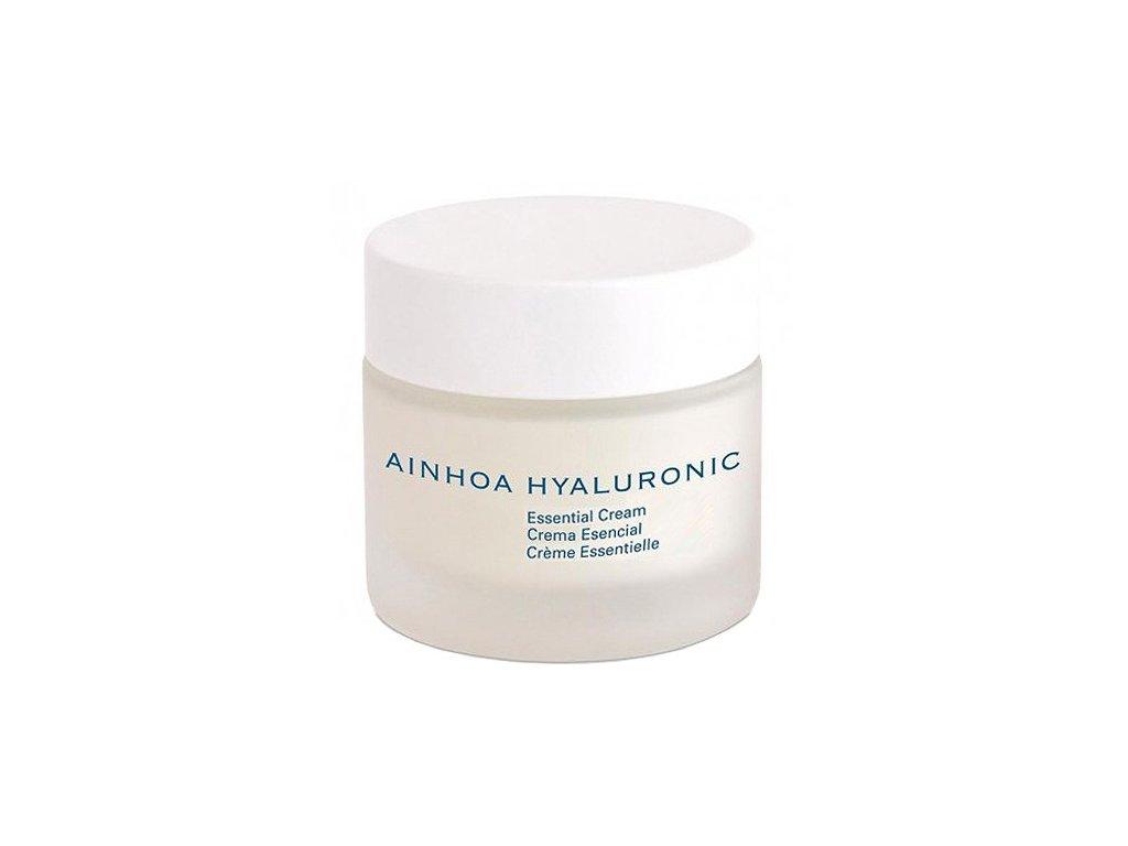 Ainhoa Hyaluronic Essential Cream 50 ml - hydratační krém pro normální pokožku  s kyselinou hyaluronovou pro intenzivní a dlouhodobou hydrataci pleti