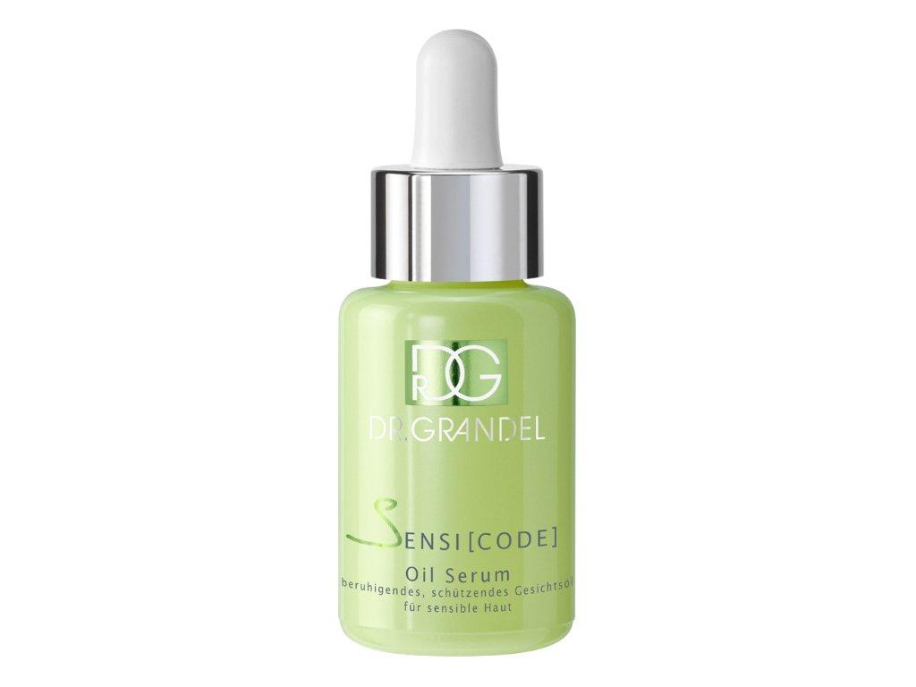 Pleťový olej pro citlivou pokožku 30 ml - pro citlivou pokožku bez parfemace  pro okamžitě uvolněný a pružný pocit pokožky