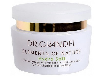 Hydro Soft 50 ml - dlouhotrvající hydratace  vyhlazuje, zklidňuje a odstraňuje pocit suché napnuté kůže