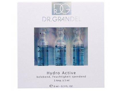 Hydro Active 3x3 ml - oživuje a vitalizuje pokožku  ampule pro lepší, rychlejší a viditelně dlouhotrvající účinek
