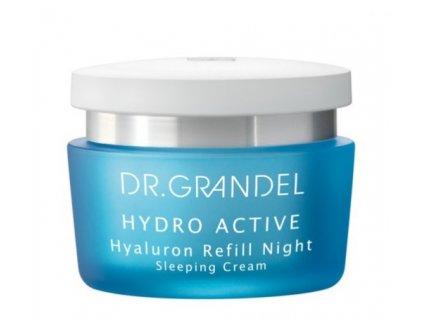 Hyaluron Refill Night 50 ml - zpevňující a hydratační noční krém  stimuluje přirozenou tvorbu kyseliny hyaluronové v pokožce