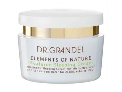 Hyaluron Sleeping Cream 50 ml – noční krém pro plnou a hladkou pleť  pleťový krém zklidní pokožku a hloubkově hydratuje pleť