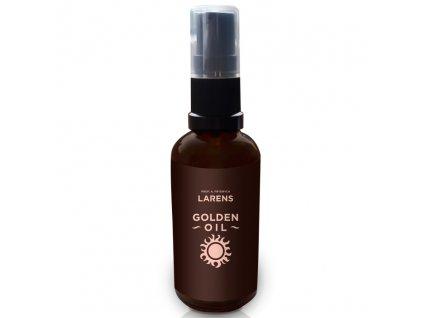Larens Golden Oil 50ml - vyhlazuje a zvláčňuje  100% přírodní, nerafinované vyživující oleje