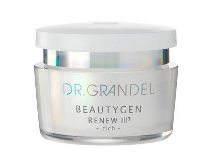 RENEW III rich 50 ml - omlazuje pleť  pro velmi suchou pleť, chrání kolagenová vlákna, zvyšuje elasticitu, omlazuje pokožku