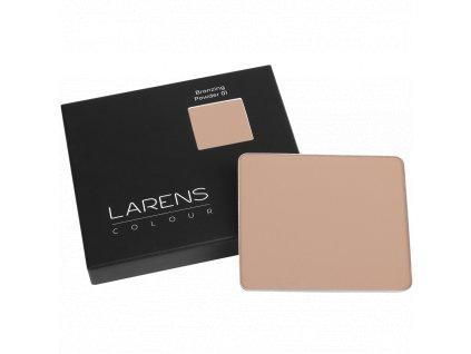 Larens Colour Bronzing Powder 8g - lehký bronzující lisovaný pudr  žádné skvrny, nerovnosti ani usazování v jemných linkách a vráskách