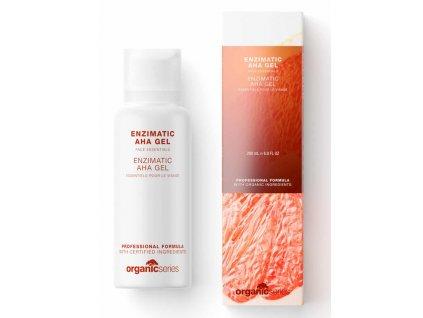 Enzymový čistící gel s AHA kyselinami 50 ml - pro pleť postiženou akné  pro pleť hladkou, hluboce očištěnou a rozjasněnou