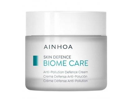 Ainhoa Biome Care Anti-Pollution Defence Cream 50 ml - pro normální pleť  posiluje pokožku a udržuje v rovnováze její mikroflóru