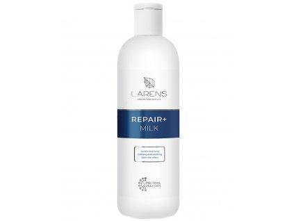 LARENS Repair+ Milk 200 ml - rozjasňuje a vyhlazuje pleť  účinně a jemně odstraňuje nečistoty z pleti a odličuje i silný make-up