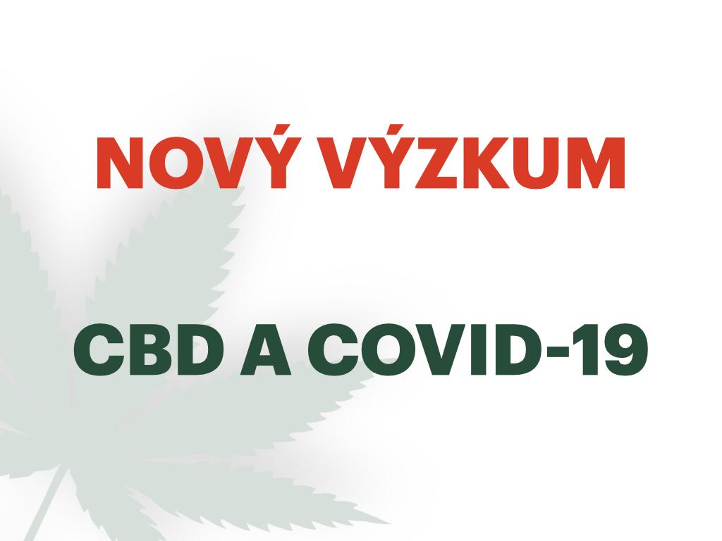 VÝZKUM CBD A COVID-19
