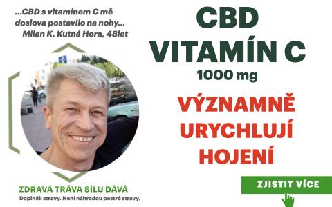 CBD s Vitamínem C mě doslova postavilo na nohy