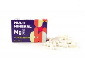 MULTIMINERAL Mg - 30 kapslí