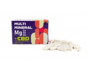 MULTIMINERAL Mg s CBD - 30 kapslí