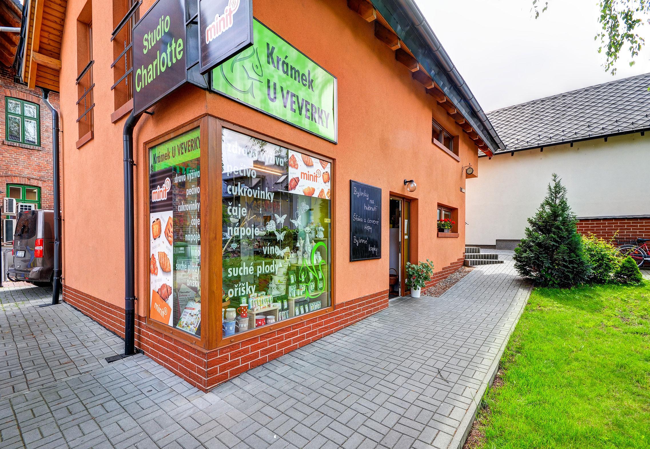 Fotografie prodejny v Hlučíně