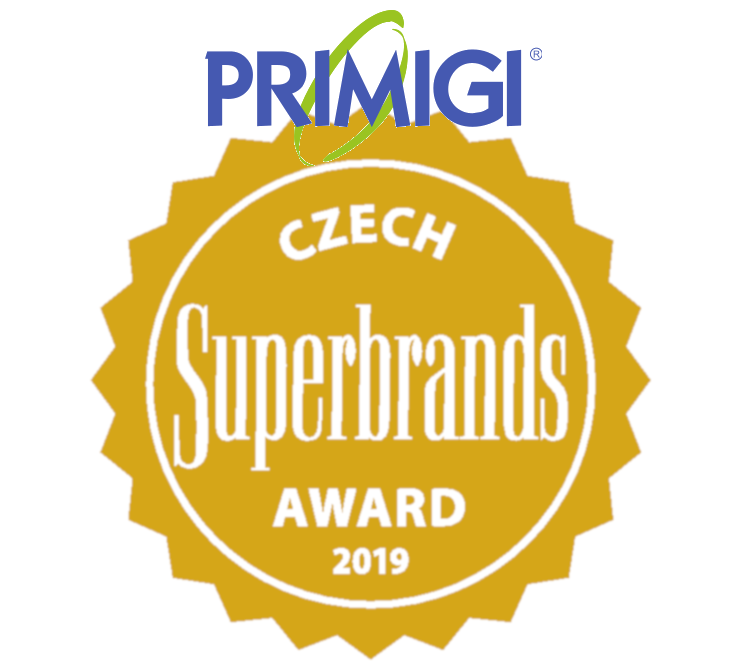 PRIMIGI Czech Superbrands Award 2019