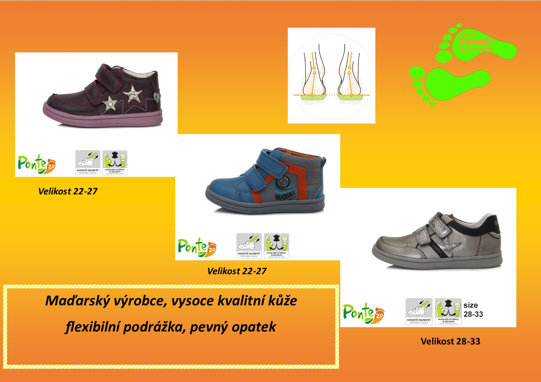 PONTE 20 celoroční obuv