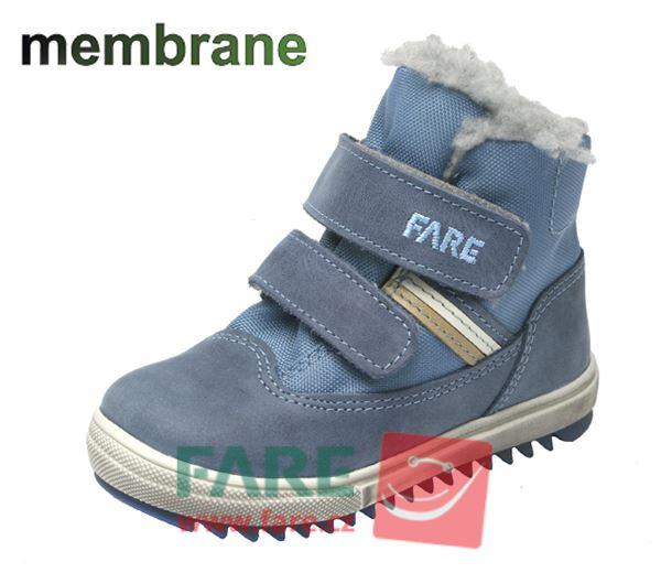 FARE zimní chlapecká obuv
