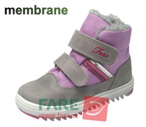FARE zimní dívčí obuv s membránou