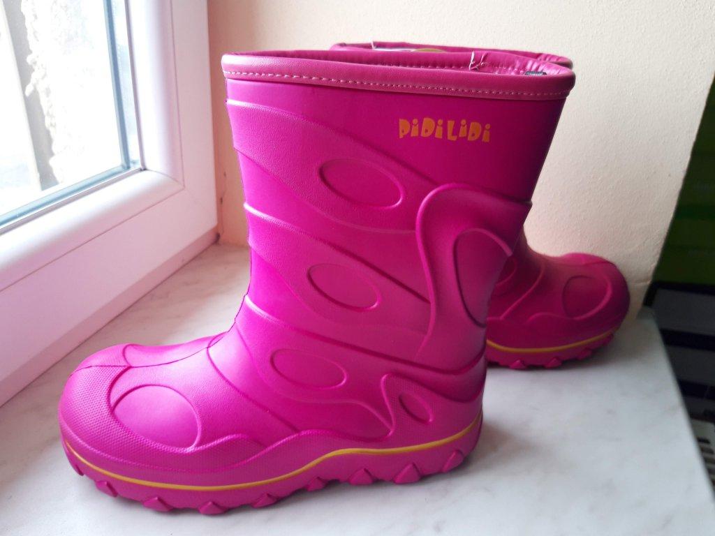 Dívčí sněhule/holinky PIDILIDI zateplené