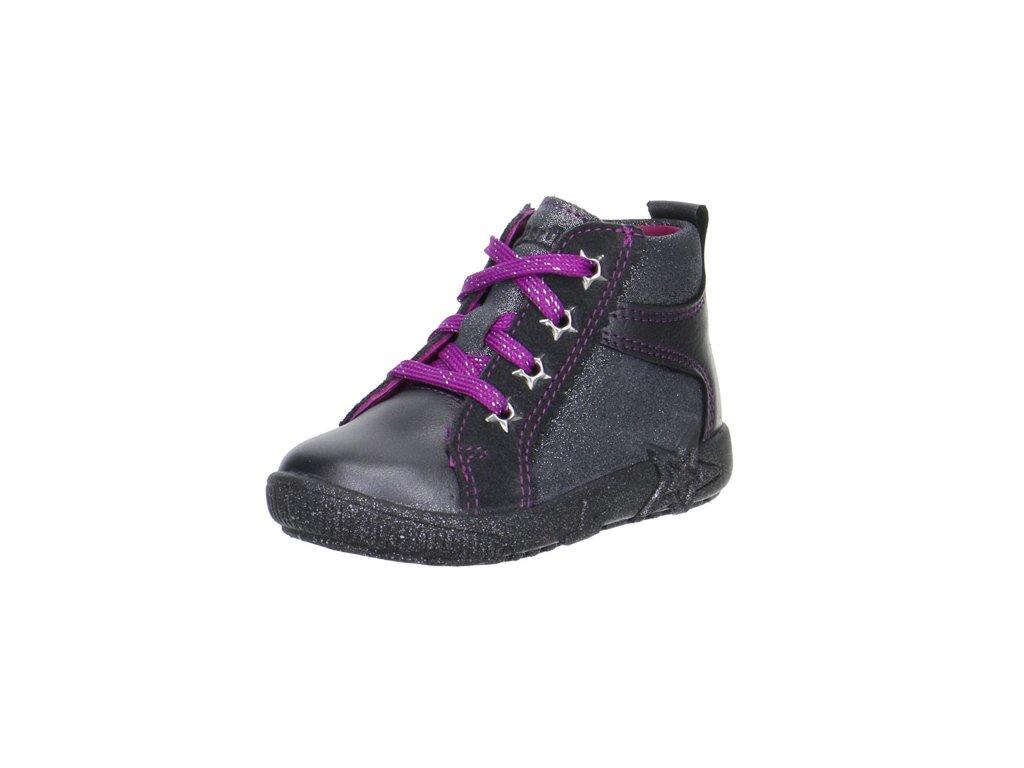 4f6d8ab979c Superfit celoroční obuv Starlight tmavě šedá s fialovou - ZDRAVÉ BOTIČKY