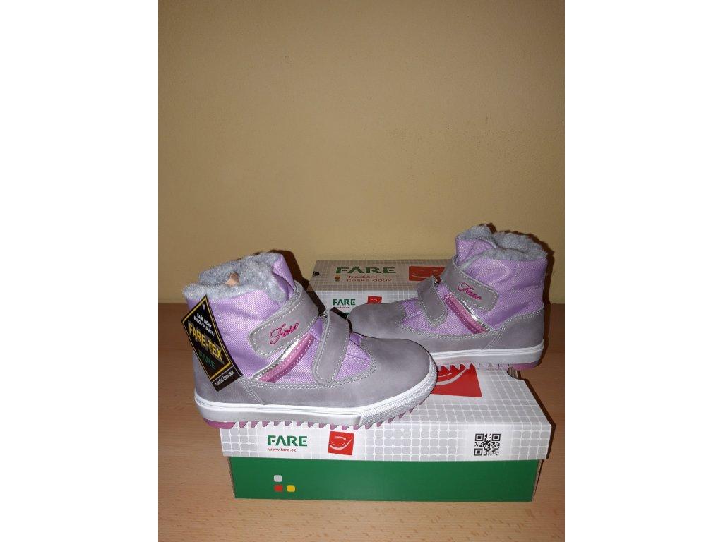 FARE dívčí zimní obuv FARE-TEX