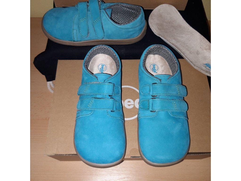 Beda barefoot Tobias kožená nízká obuv