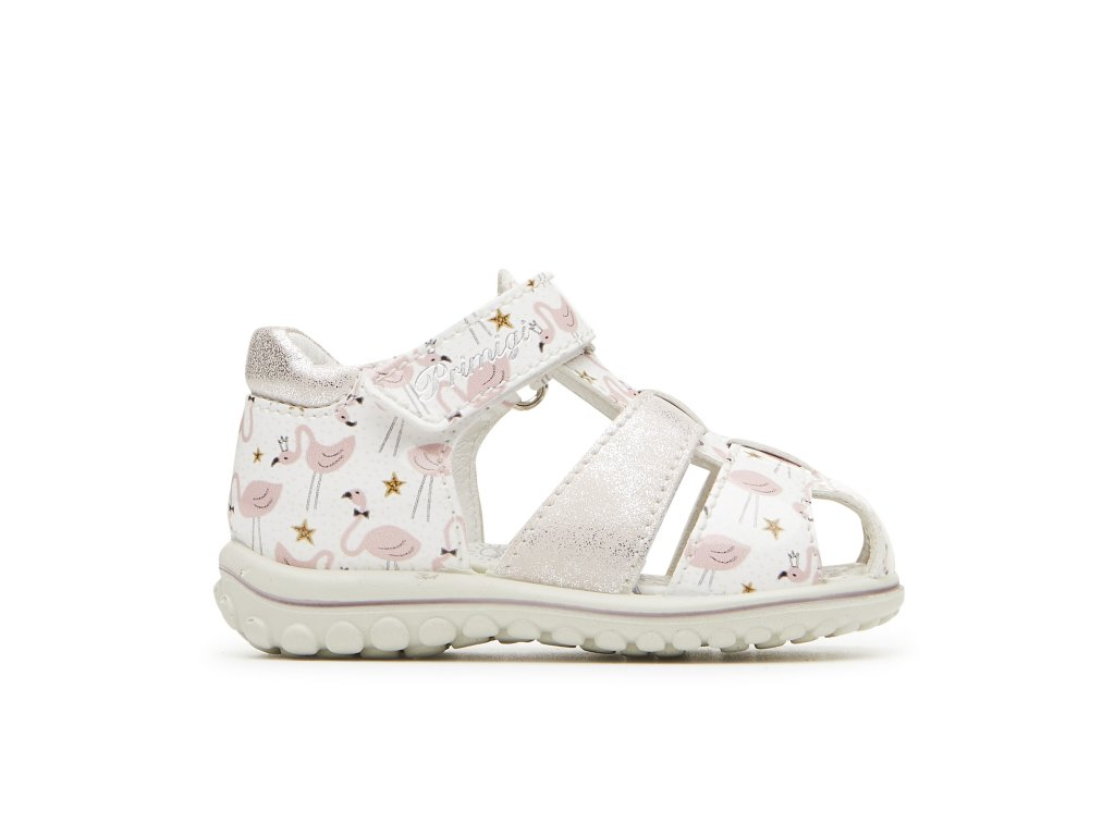 Primigi 3378211 baby sandálky bianco rosa