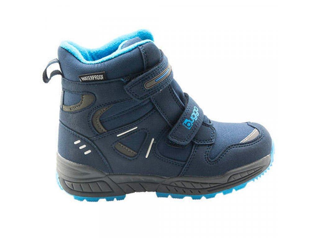 Bugga chlapecká zimní obuv Bugga B00151-04 s membránou
