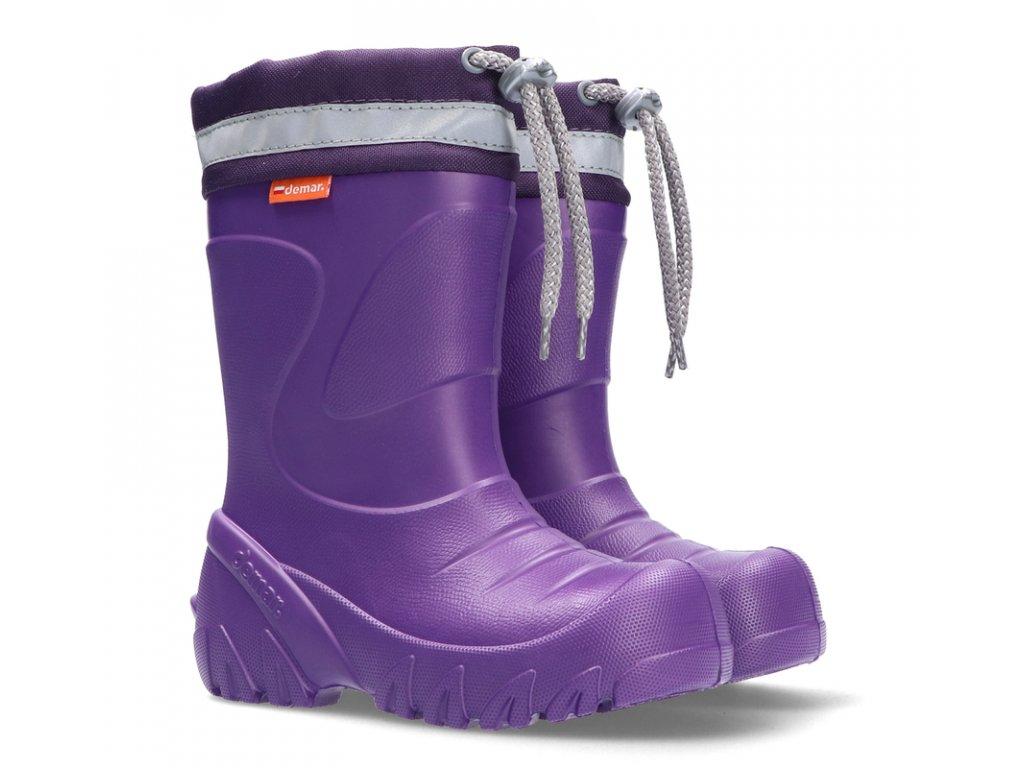 27532 1 demar mammut s 0300 k fialovy purple lila 22 23