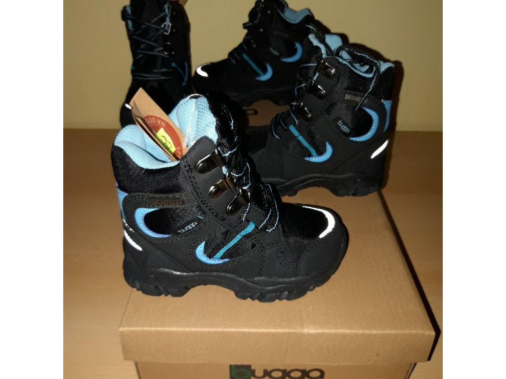 Bugga chlapecká zimní obuv Bugga B00130-04 s membránou