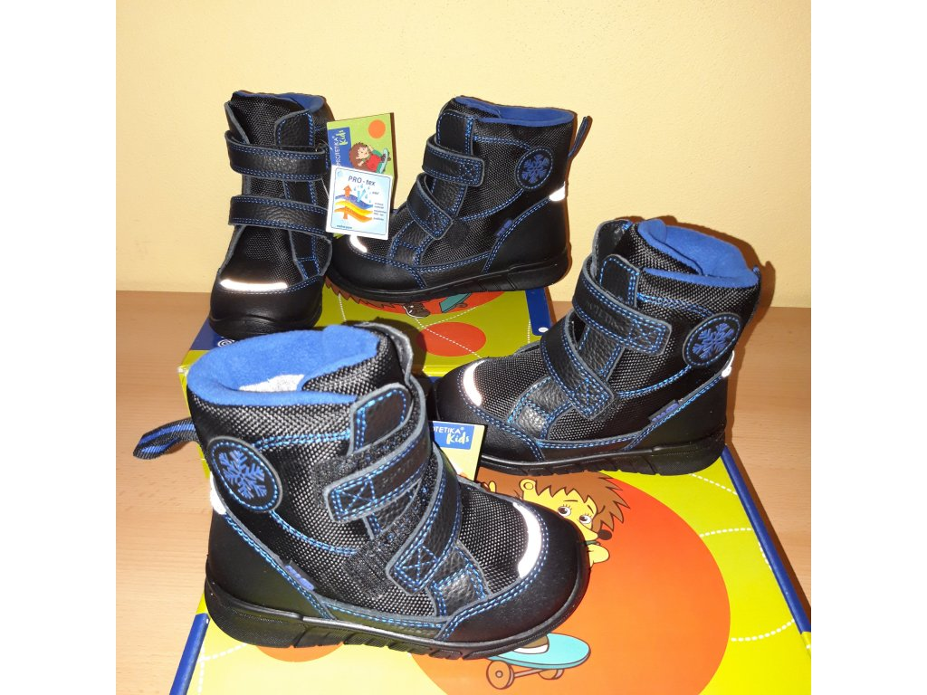 Protetika chlapecká zimní obuv ASTON PRO-tex