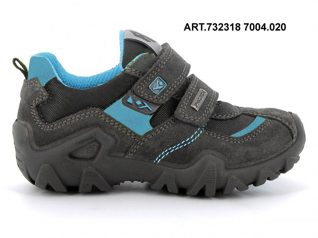 IMAC chlapecká celoroční obuv NERO blue