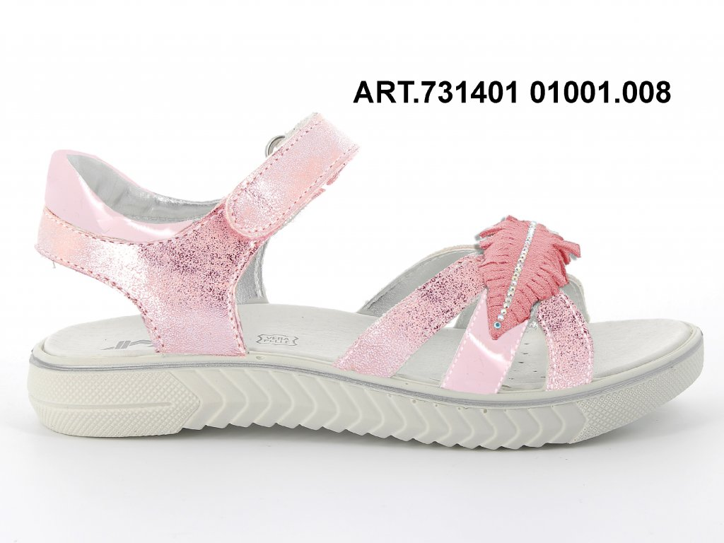 IMAC dívčí letní sandál Aurora Rosso 713401