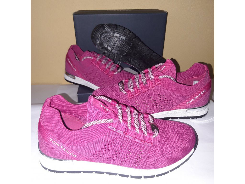Tom Tailor tenisky pink 1172001
