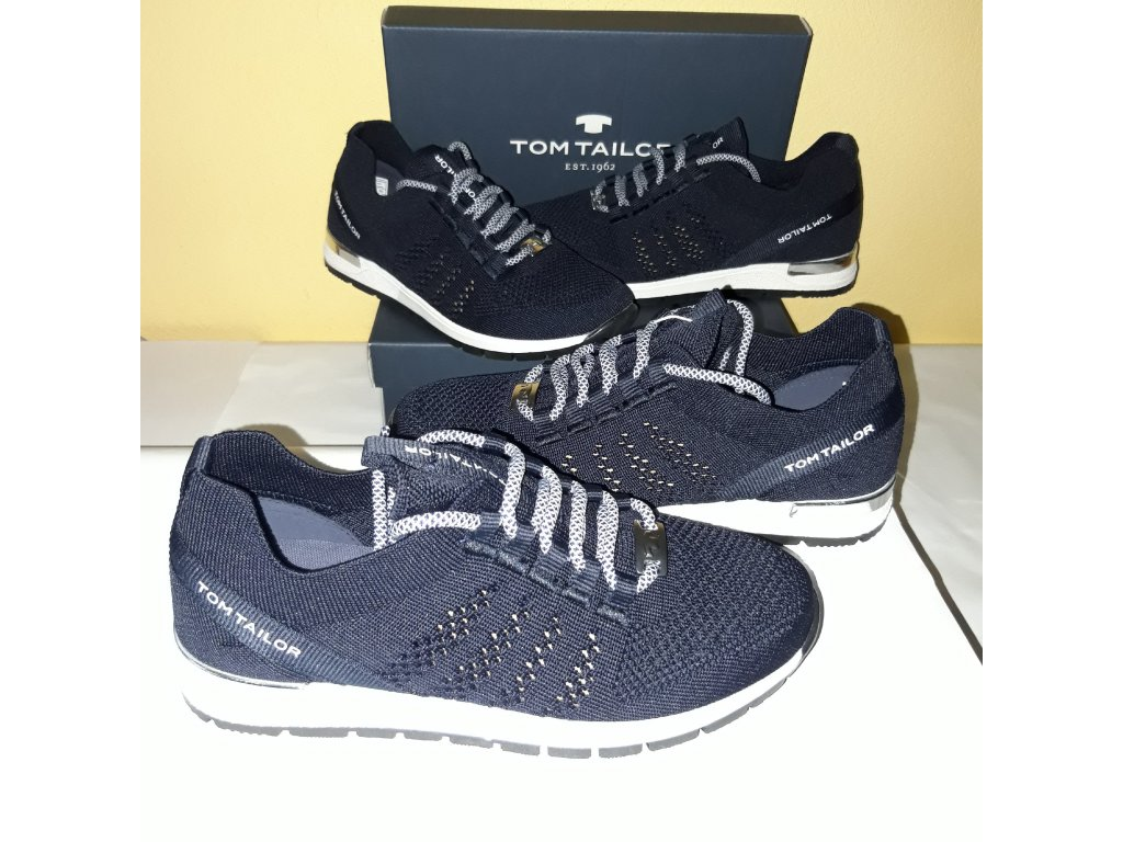 Tom Tailor tenisky dark blue 117201