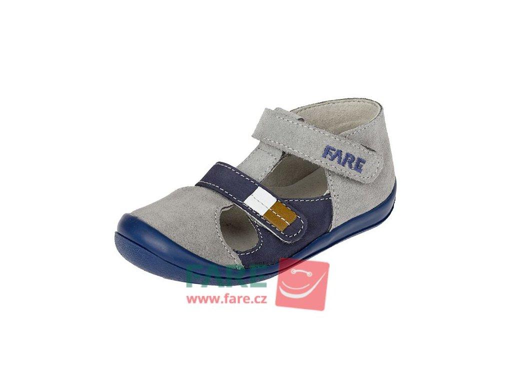 FARE chlapecké kožené sandálky 868361