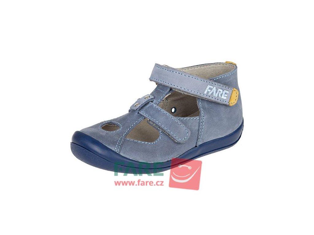 FARE chlapecké kožené sandálky 867102