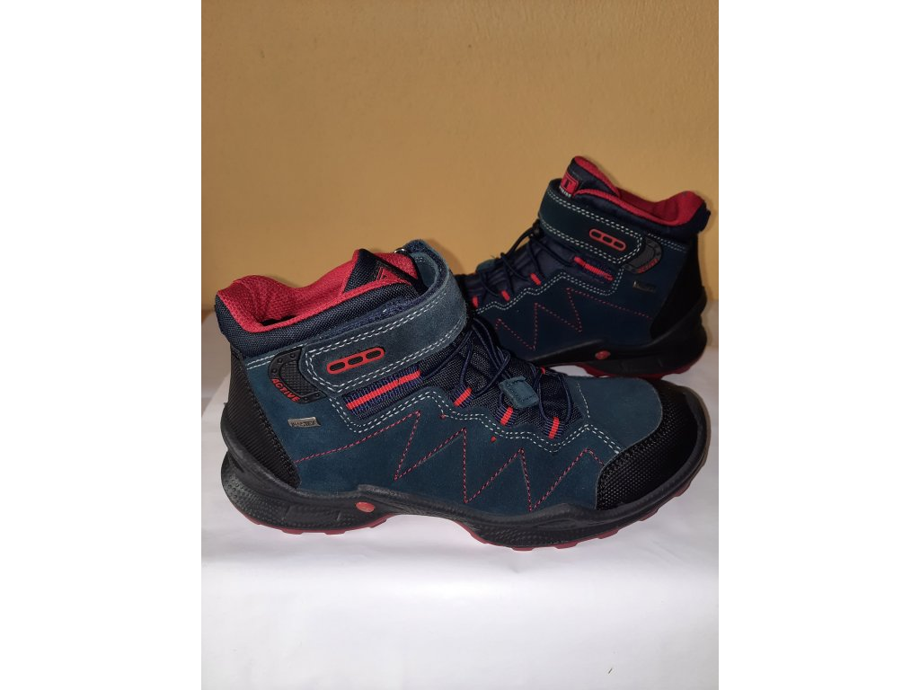 IMAC celoroční obuv FOXY blue/red s membránou IMACTEX