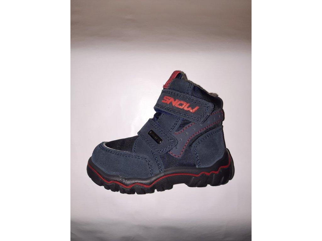IMAC zimní obuv SPUNK IMAC-TEX Navy/Rosso