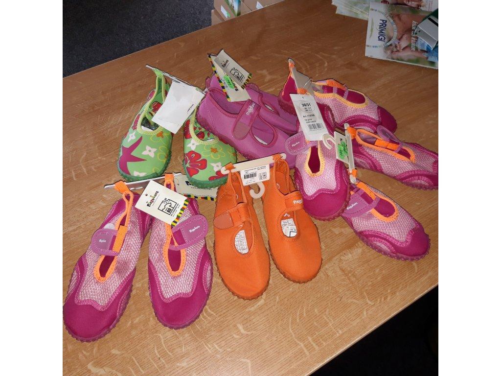 Playshoes boty do vody dívčí různé barvy