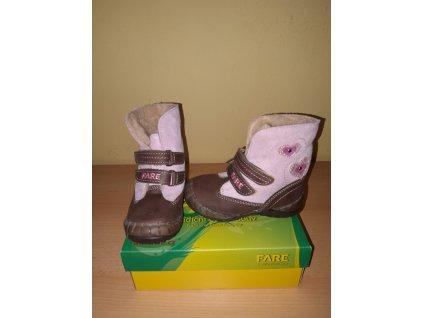 FARE dívčí zimní obuv 8491211