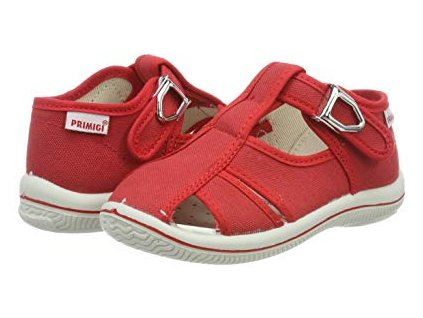Primigi 3370033 baby sandálky červené