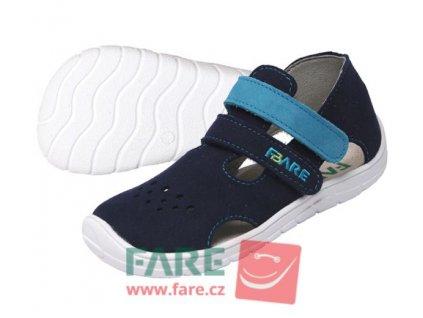 FARE BARE chlapecké textilní sandálky 5164201