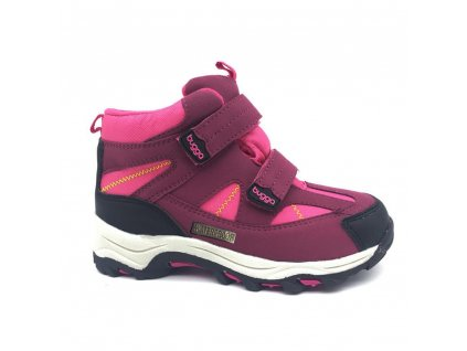 Bugga dívčí zimní obuv Bugga B00126-03 s membránou