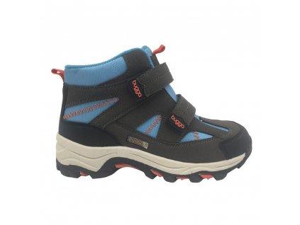 Bugga chlapecká zimní obuv Bugga B00126-04 s membránou
