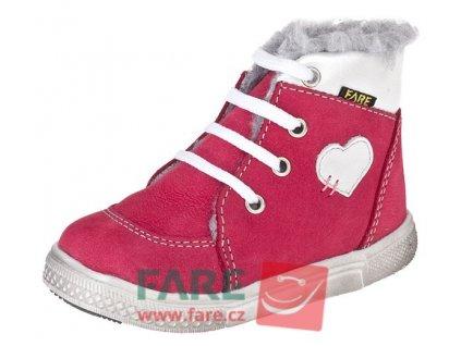 FARE dívčí zimní obuv 2141241