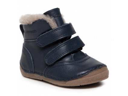 7638 g2110087 2 grey detska kozena zimni obuv froddo