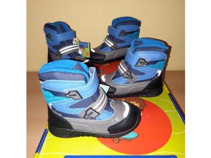 Protetika chlapecká zimní obuv MARON blue PRO-tex